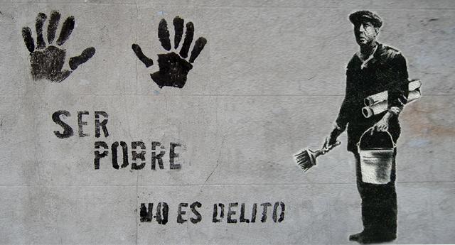 Ser pobre no es delito
