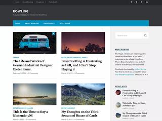 Best Wordpress Themes Free 2018