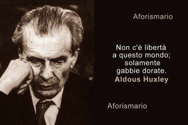 Aforismario Aforismi Frasi E Citazioni Di Aldous Huxley