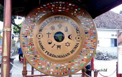 worl peace gong at indonesia