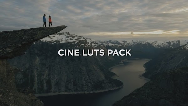 Travelfeels CINE LUTS PACK - Free download