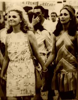 Passeata na Época do Regime Militar: Exposição no Centro Cultural de Criciúma