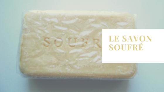 savon soufre made in Guadeloupe sulfur soap natural bio fabrication authentique Antilles caribbean nature  acne eczema psoriasis peau noire probleme