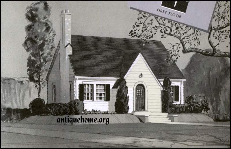 The Daily Bungalow Compare Sears Kit Homes The Dover – Sears Homes Floor Plans