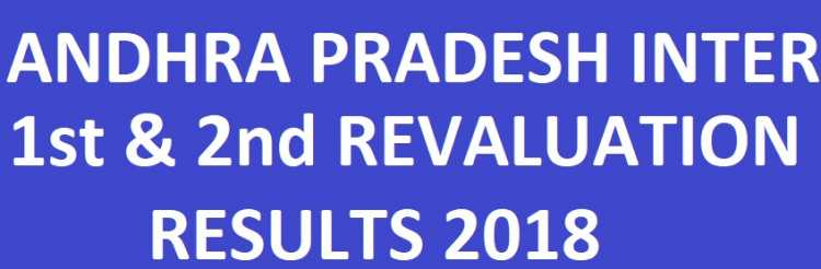AP Inter 1st & 2nd Year Revaluation/Recounting Results
