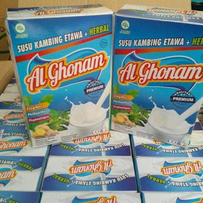 Susu Kambing Etawa Bubuk Al Ghonam