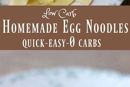 0 Low Carb Egg Noodles