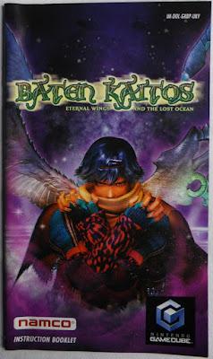 Baten Kaitos - Las Alas Eternas y el Océano Perdido - Manual portada