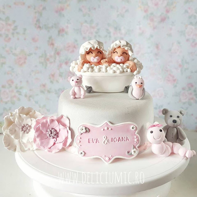 figurine tort gemeni