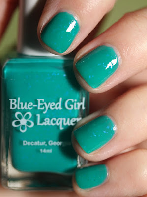 Blue-Eyed Girl Lacquer BEGL Limited Edition 40/41