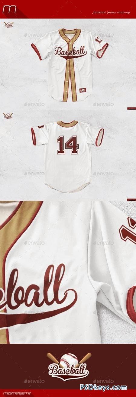 Download Download Gratis Mock Up PSD Baseball Jersey (Premium Items ...