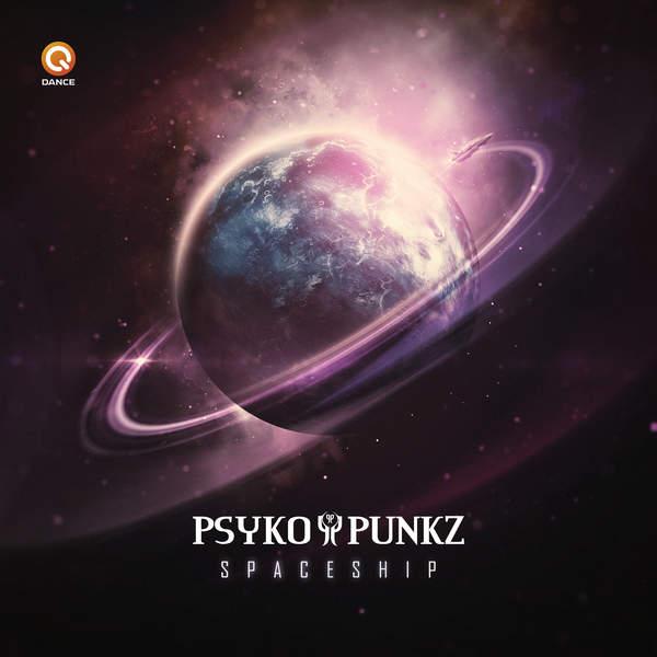 Psyko Punkz - Spaceship - Single Cover