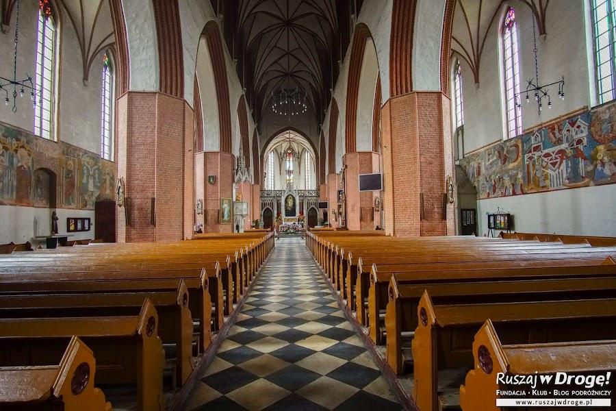 W katedrze w Kwidzynie