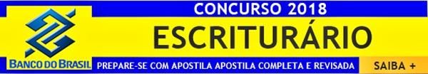 Concurso Banco do Brasil 2018 Escriturário