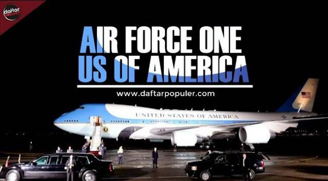 10 Fakta tentang Air Force One Pesawat Kepresidenan Amerika Serikat