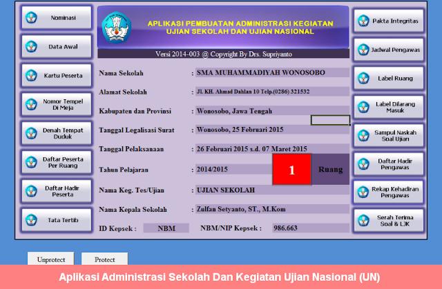 Aplikasi Administrasi Sekolah