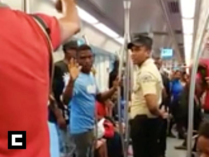 Video: Evangélico predica en el Metro y se arma un 'reperpero'