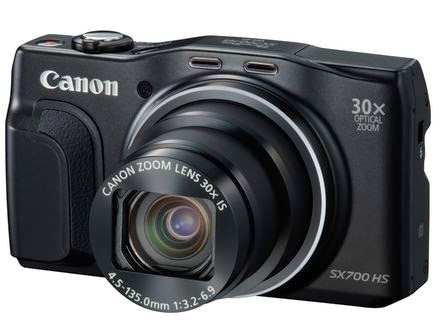 Canon PowerShot SX700 HS 30x zoom digital camera