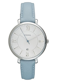 zegarek fossil, dodatki do czarnej sukienki