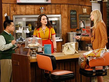 2 Broke Girls - Season 1 Episode 02: And the Break-up Scene