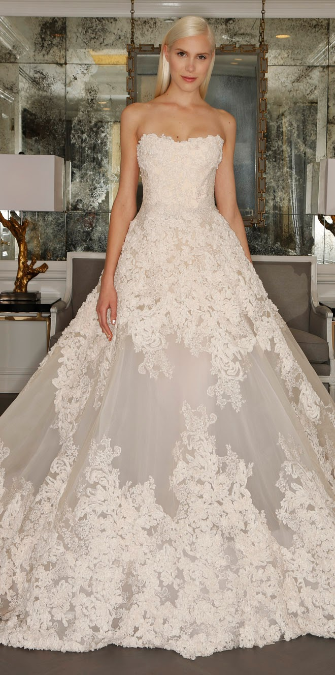 Romona Keveza Fall 2015 Luxe Bridal Collection - Belle The Magazine