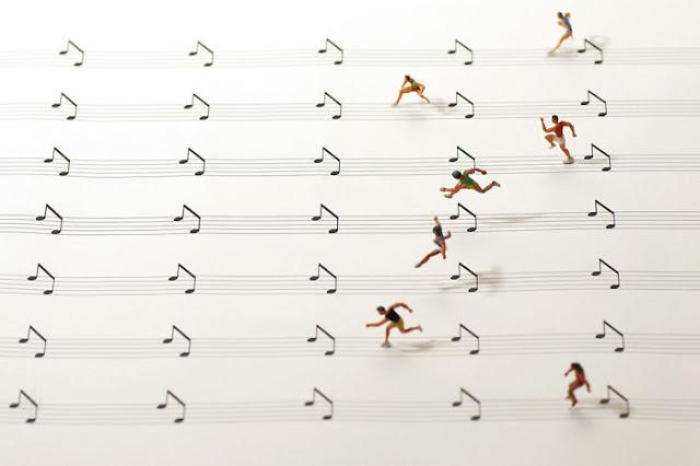 Dioramas Tatsuya Tanaka Creativas situaciones en miniatura