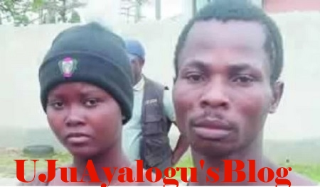 Husband and Pregnant Wife Arrested for Armed Robbery in Bayelsa State (Photo)
