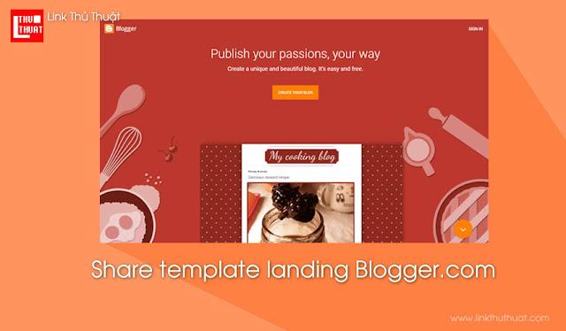 Blogger.com - Template blogger giới thiệu doanh nghiệp, cá nhân, sản phẩm... cực đẹp