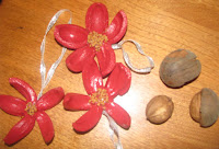 Hickory nut ornaments