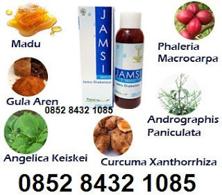 Obat diabetes Jamsi herbal alami yang ampuh cepat menurunkan gula darah