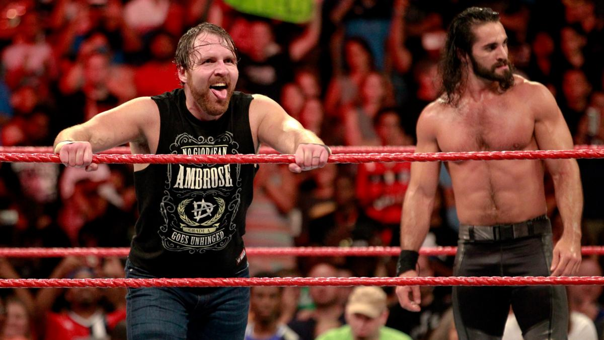 backstage news on seth rollins dean ambrose wwe summerslam poster