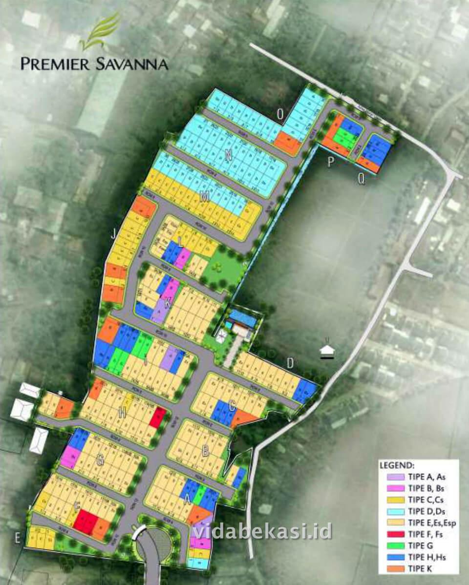 Site Plan Premier Savanna