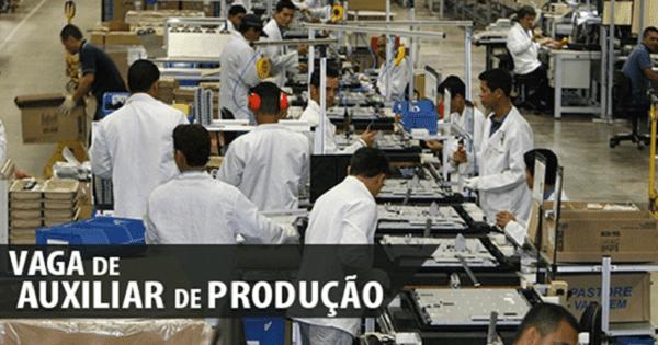 Fábrica de Velas contrata Auxiliar de Produção no Rio de Janeiro