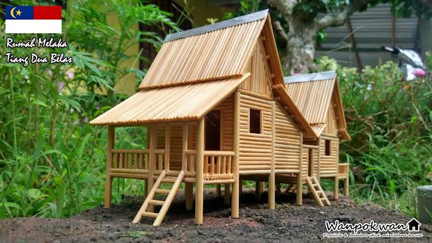 Rumah Dari Batang Aiskrim