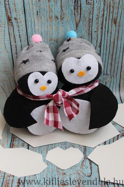Des zamours de pingouins