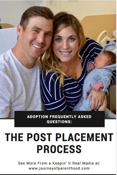 Adoption FAQ: Post Placement Process