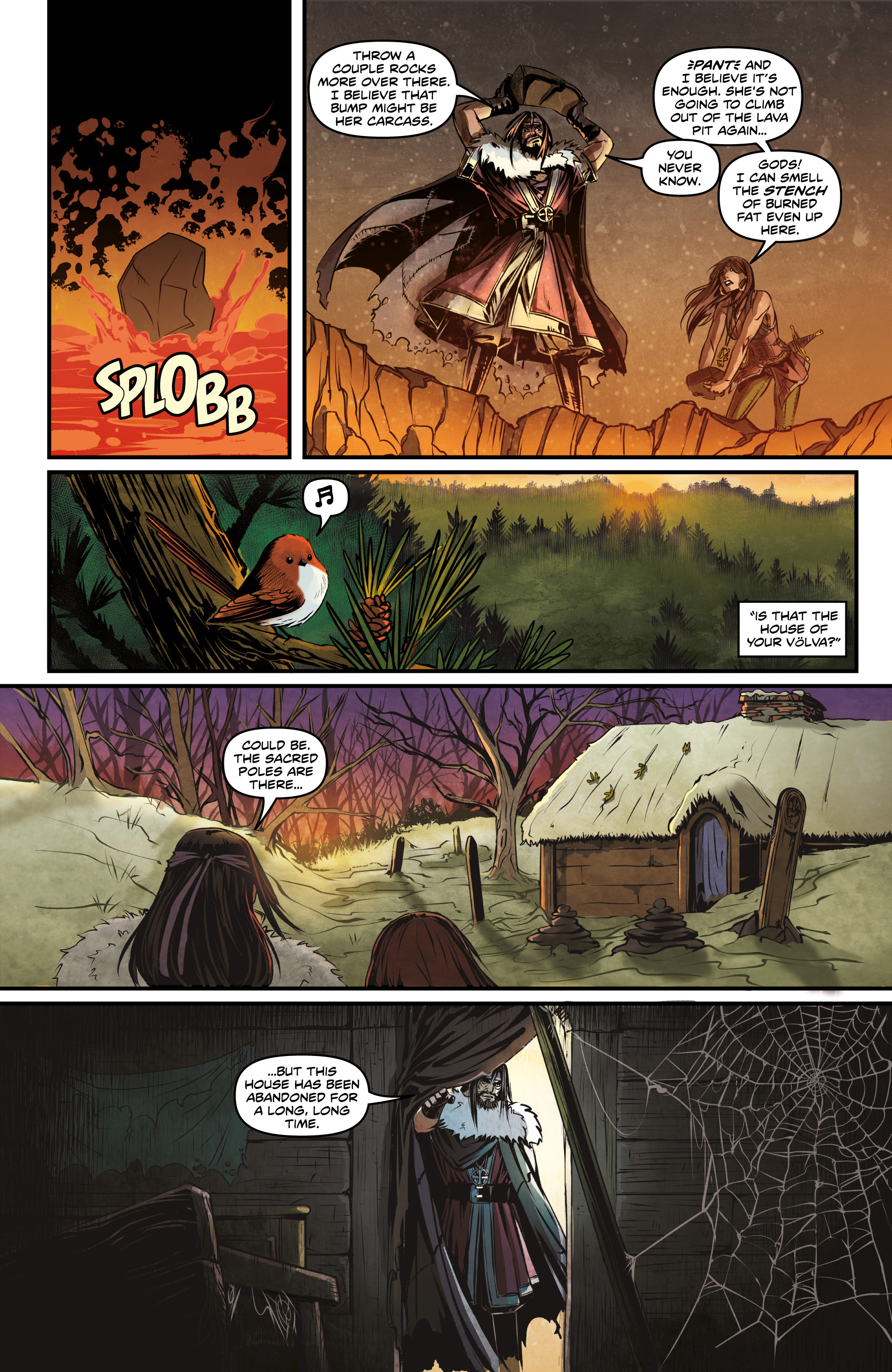 Read online Rogues! (2014) comic -  Issue #2 - 21