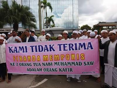 slogan penolakan ustadz firanda di samarinda