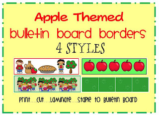 apple bulletin board borders