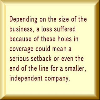 Do you have a hole in your business insurance policy?