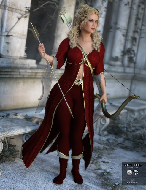 Artemis Moon Outfit Textures
