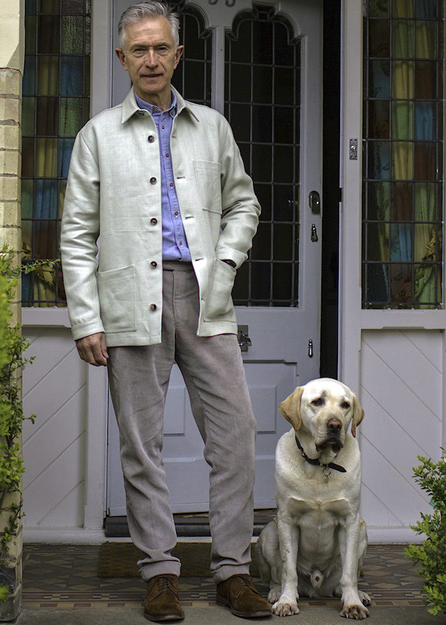 linen, flax london, summer jacket,