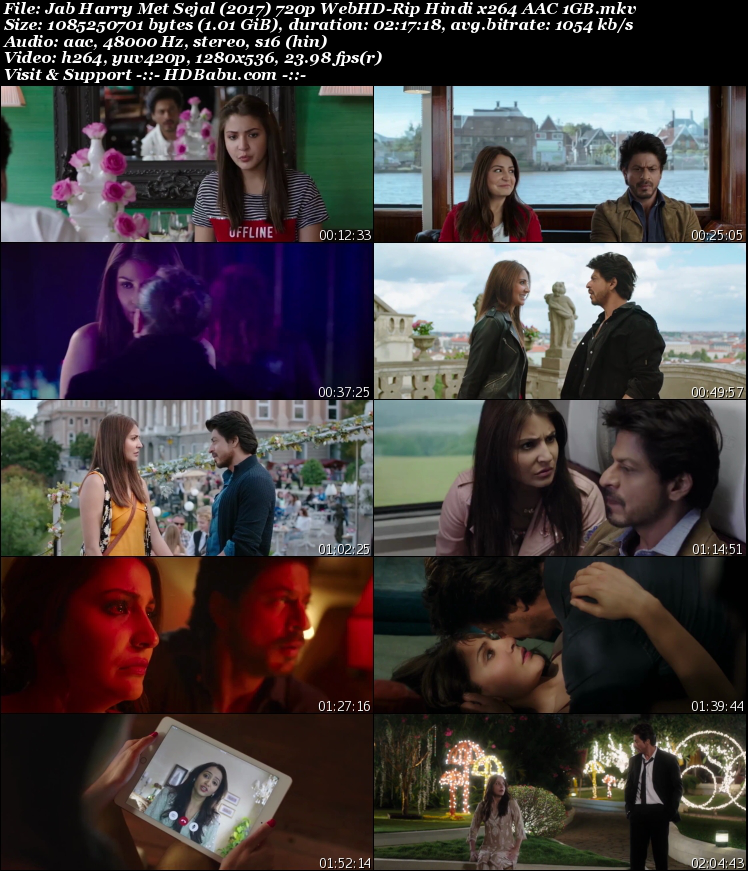 Jab Harry Met Sejal Full Movie Download,Jab Harry Met Sejal Hindi Full HD Movie Download Free HD MKV Mp4,Jab Harry Met Sejal Hindi 720p Bluray 480p HDRip 1GB 350MB