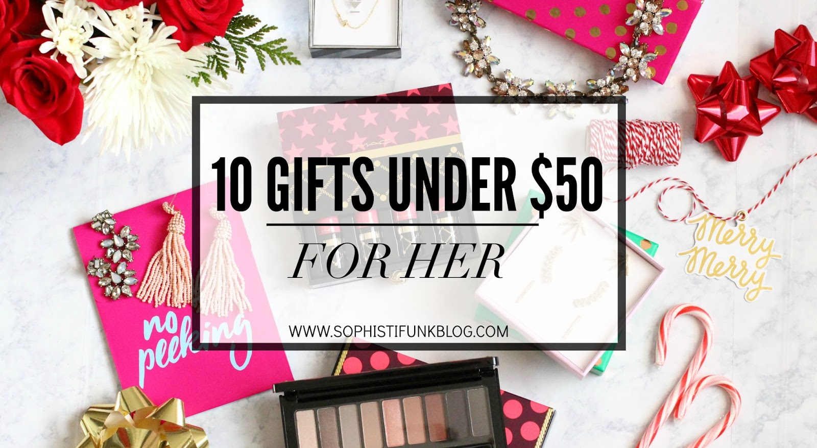 10 Gifts Under $50: For Her