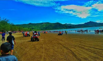 beautiful beach in tulungagung