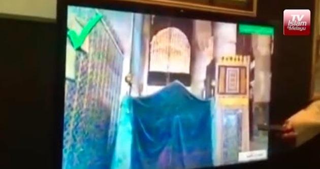 [VIDEO] Pertama kali Arab Saudi tunjuk gambar makam Rasulullah