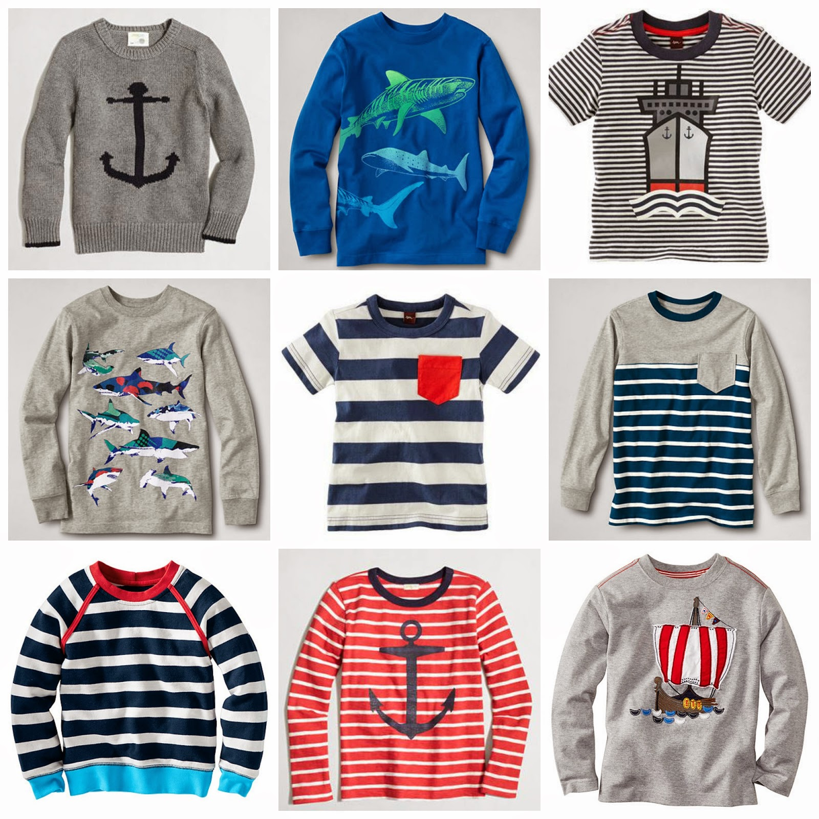 Nautical by Nature | Back to School: Boys nautical clothing