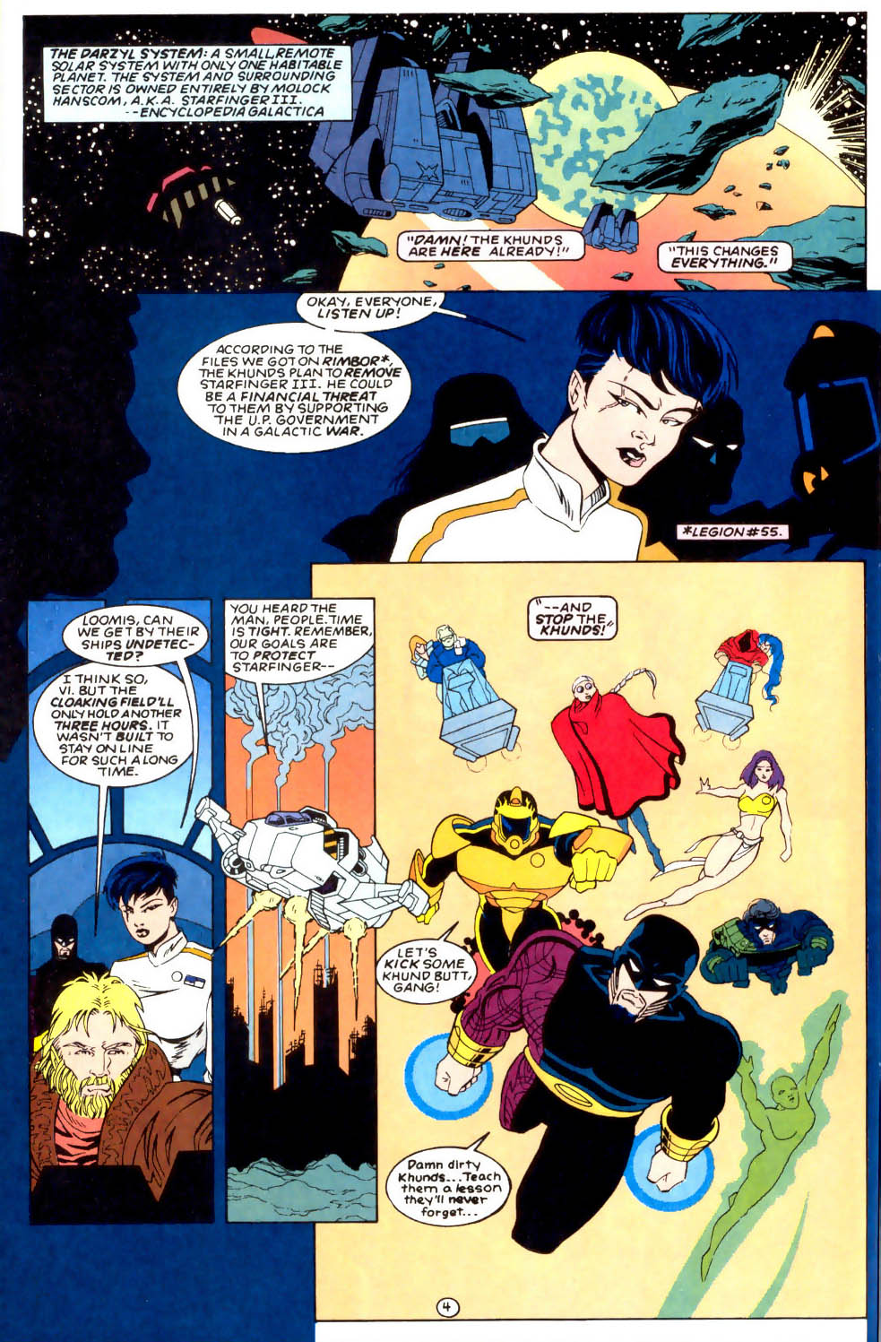 Legion of Super-Heroes (1989) 57 Page 4