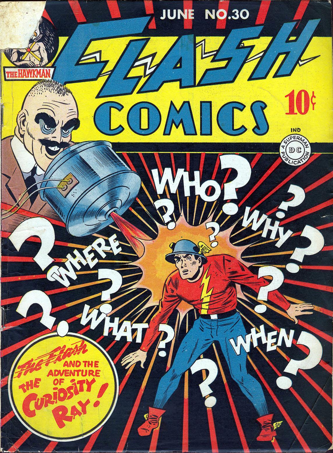 Flash Comics 30 Page 1