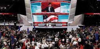 La campaña de Trump esperaba que la nominación formal pusiera fin a la discordia dentro del Partido Republicano y eclipsara el caótico inicio de la convención, que incluye acusaciones de plagio que involucran el discurso de Melania Trump en la ceremonia inaugural.